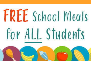 FREE School Meals for All Students Continues for the 2020-2021 School Year