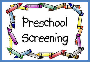 Preschool Screening Postponed